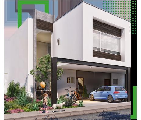 Casa modelo Roble, Bosques 2 Residencial